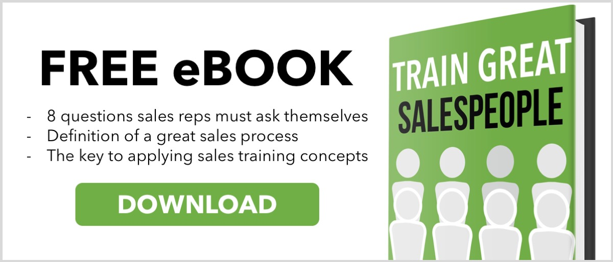 Free eBook - Train Great Salespeople