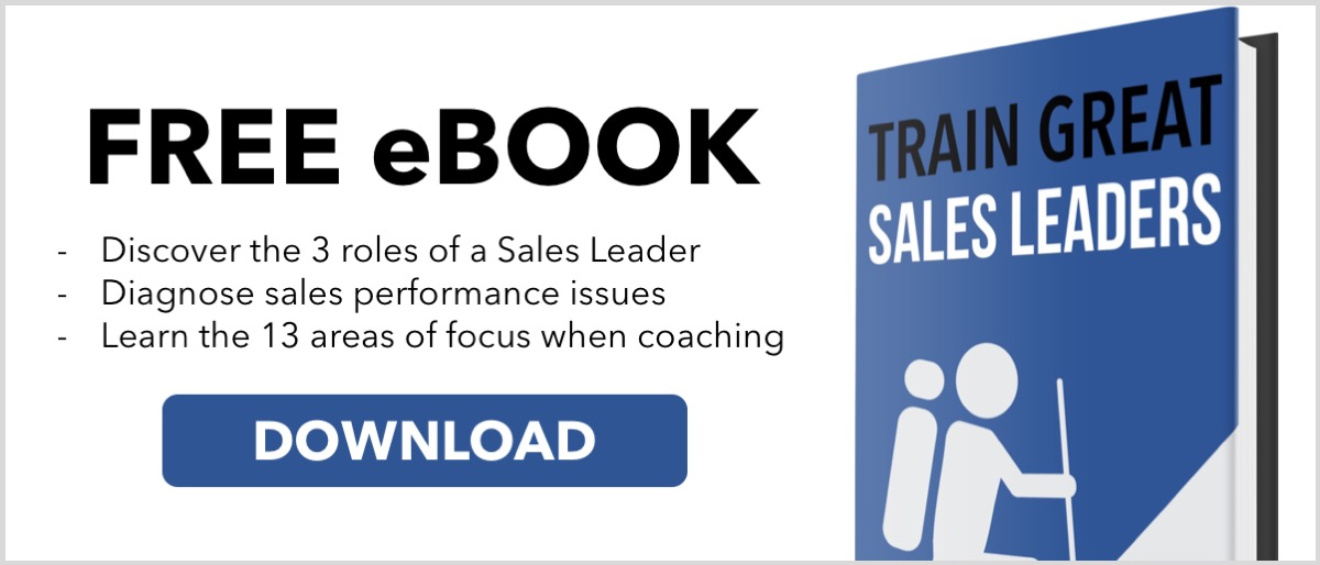 Train Great Sales Leaders